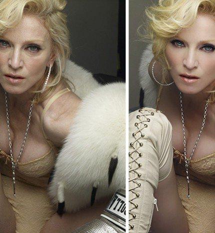 10 híresség photoshop előtt és után