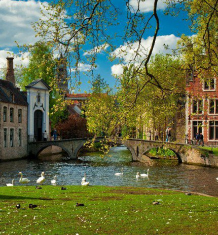 Brugge, a flamand ékszerdoboz