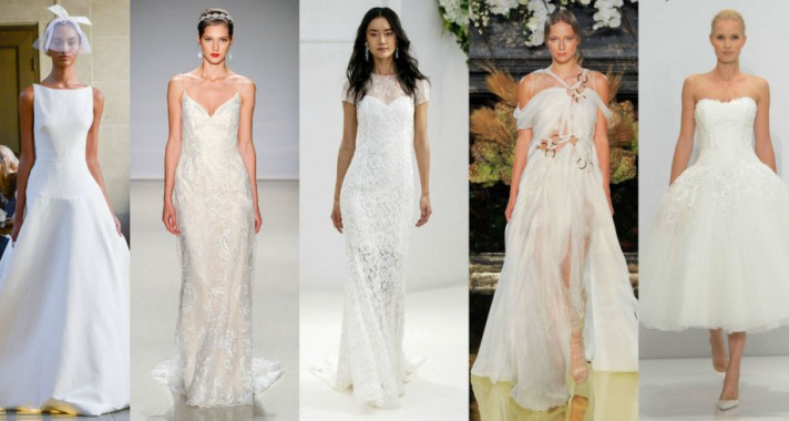 30 legelbűvölőbb menyasszonyi ruha a divathetekről