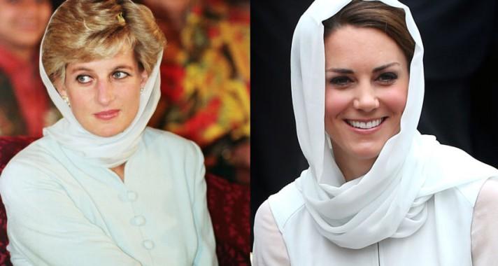 13 alkalom, amikor Katalin hercegnő Lady Diana-nak öltözött