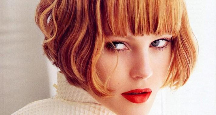 5 félhosszú és rövid frizura a dús hajú nőknek