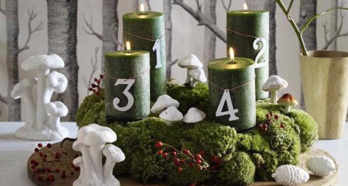 10 trendi adventi koszorú idén karácsonyra