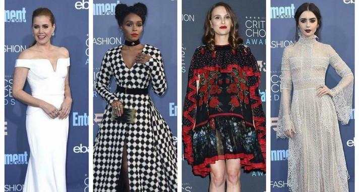 Nagy Critics' Choice Awards Red Carpet Gif Challenge