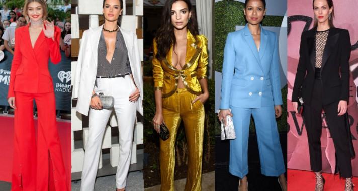Ki mondta, hogy a nőn egy öltöny nem lehet nőies? - 2016 legsikkesebb nadrágkosztümjei