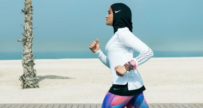 A Nike bemutatja a sport hidzsábot