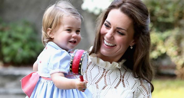 10 tündéri fotó a ma két éves Charlotte hercegnőről