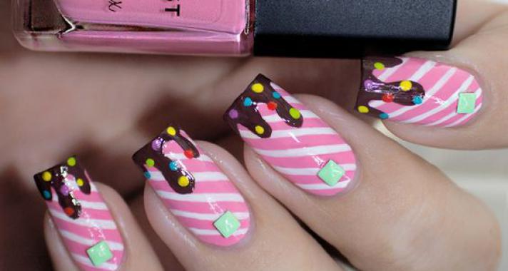 Top10: színes cukorkákat a körmeidre