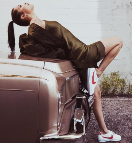 Bella Hadid a Nike Beautiful X Powerful Cortez kollekció új arca