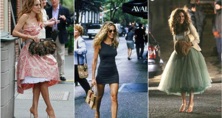 Carrie Bradshaw legjobb szettjei, amiket bármikor örömmel viselnénk