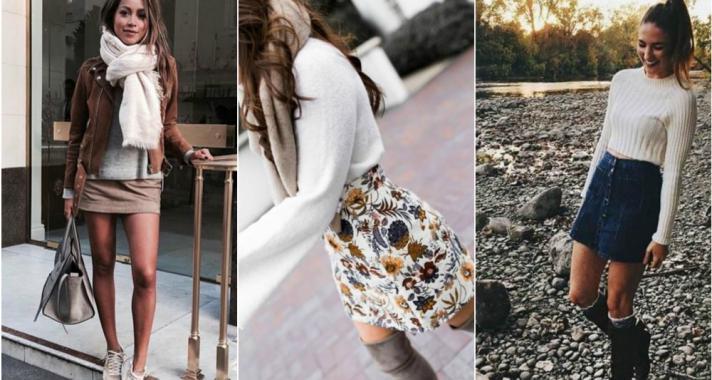 Stílusiskola: így viselj miniszoknyát, amikor hűvösre fordul az idő