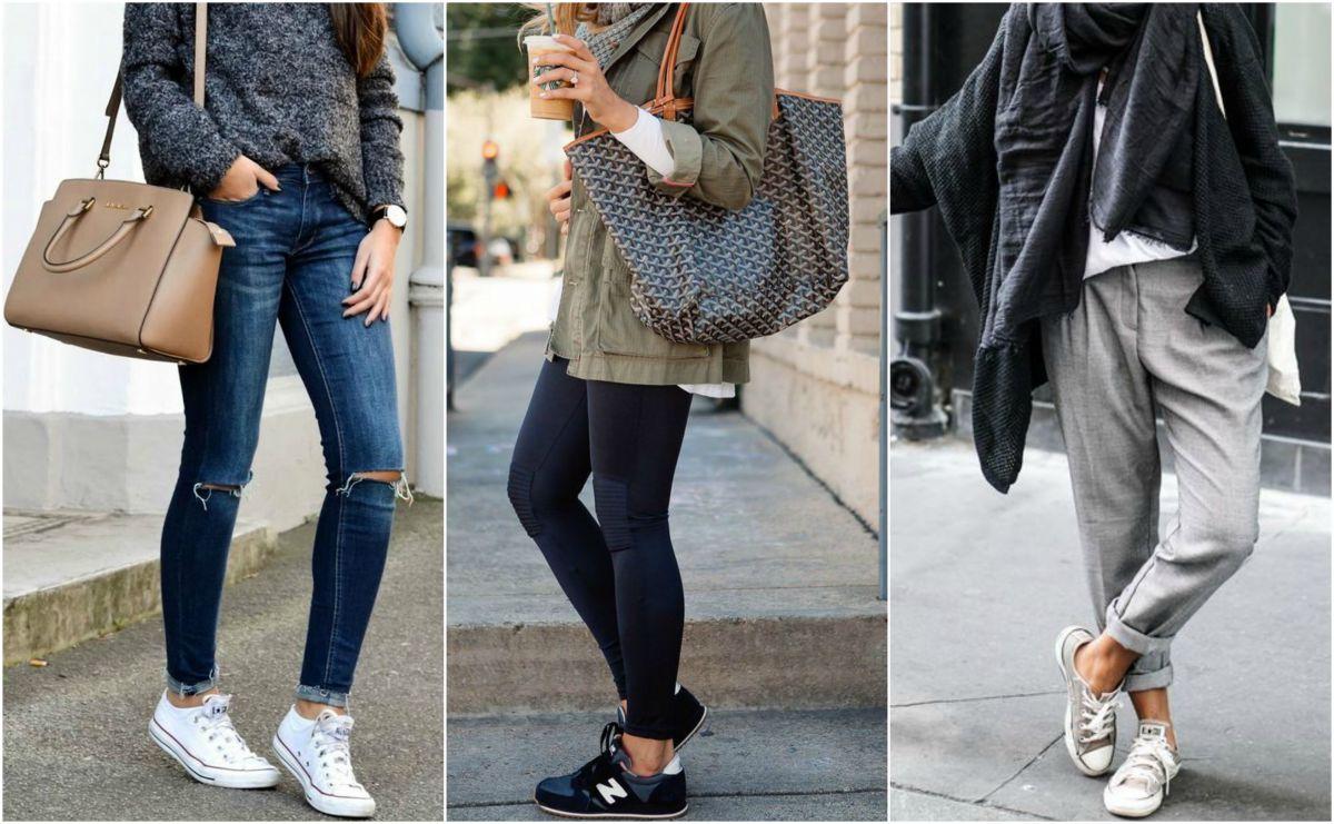 Stílusiskola: őszi outfit tippek sportcipőkkel