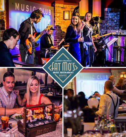 Újra indul a nagyüzem a Fat Mo's Music Restaurant-ban!