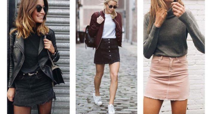 Stílusiskola: Így viseld a miniszoknyát ősszel
