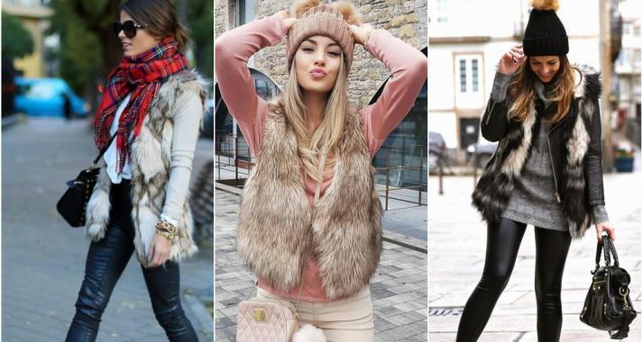 Stílusiskola: így viselj szőrös mellényeket idén ősszel