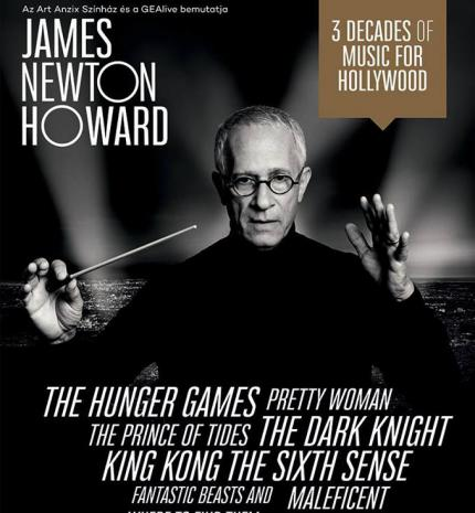 James Newton Howard Magyarországon