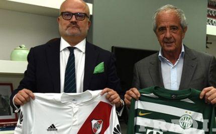 A zöld-fehér klub képviselői Dél-Amerikában jártak