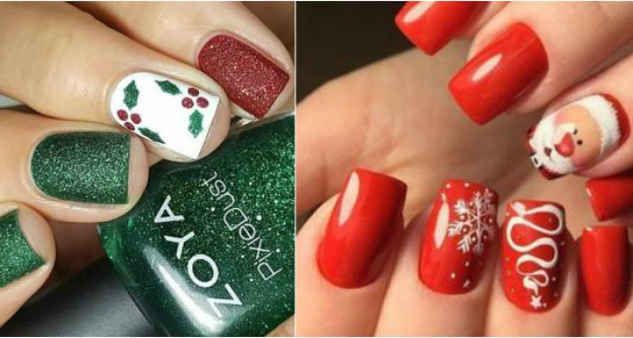 Top20: manikűr ötletek megrögzött karácsony-imádóknak
