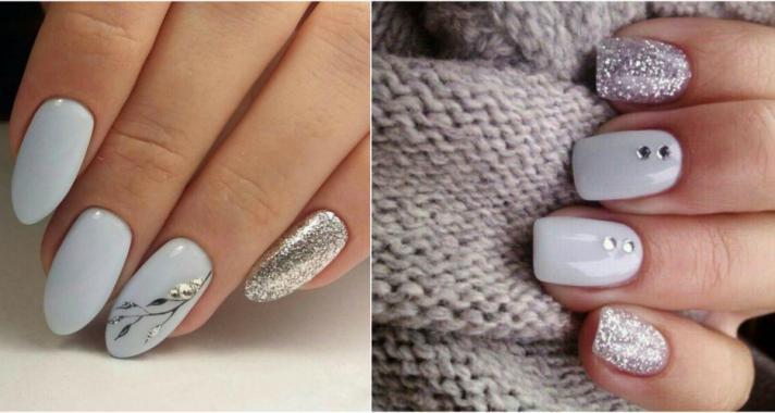 Top10: stílusos ezüst manikűr ötletek télre