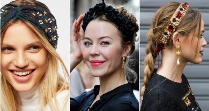 Stílusiskola: így viseld 2018 legtrendibb kiegészítőjét, a hajpántot