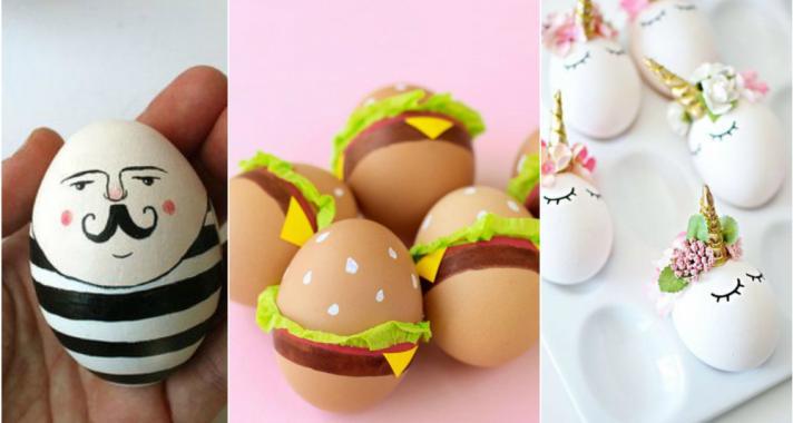 Top10: kreatív és vicces húsvéti tojások, amelyeket te is elkészíthetsz
