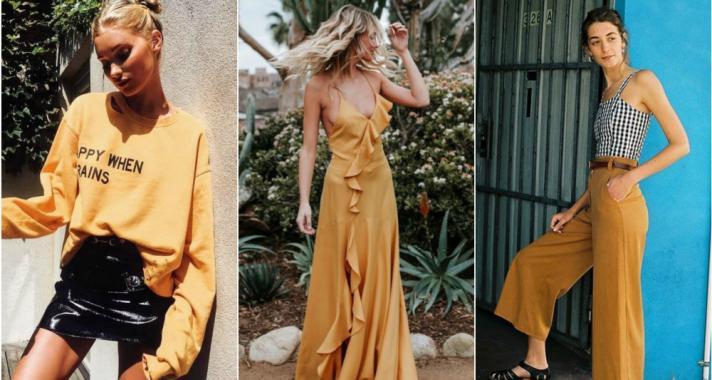 Stílusiskola: így viseld a mustársárga színt