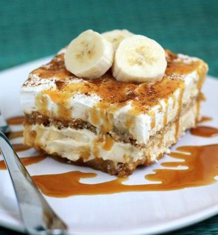 Banános tiramisu recept