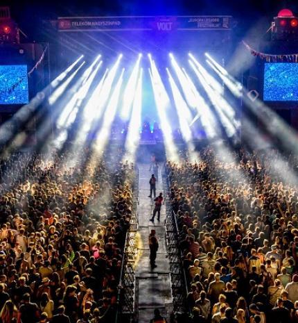 Teltházas lesz az Iron Maiden koncert