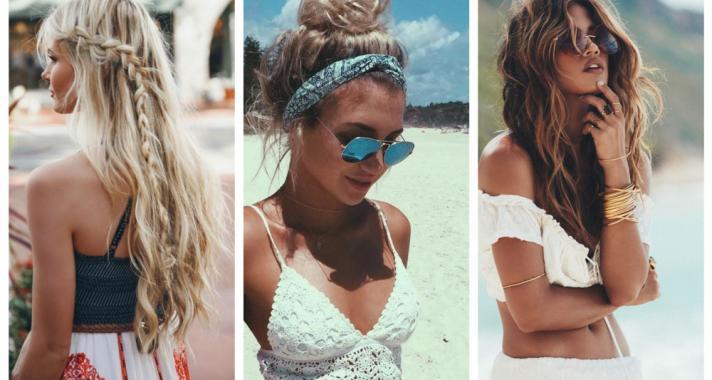 Top10: frizura ötletek vízparti nyaraláshoz