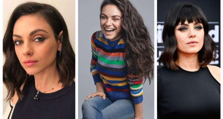 Top10: frizura ötletek Mila Kunis-tól