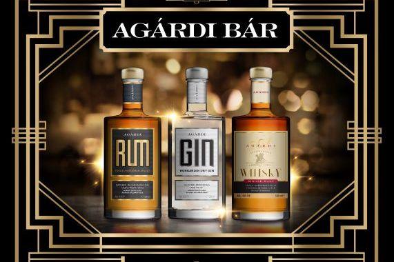Bárvonalon erősít az Agárdi – új gin, rum, whisky a hazai párlat piacon!