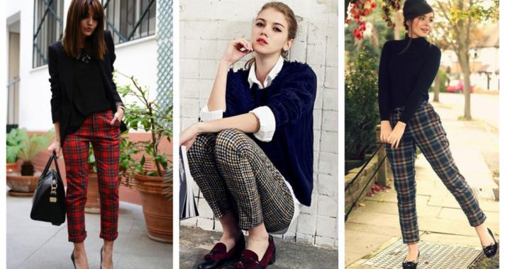 Stílusiskola: őszi kedvencünk a kockás nadrág