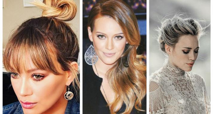 Top10: frizura ötletek Hilary Duff-tól