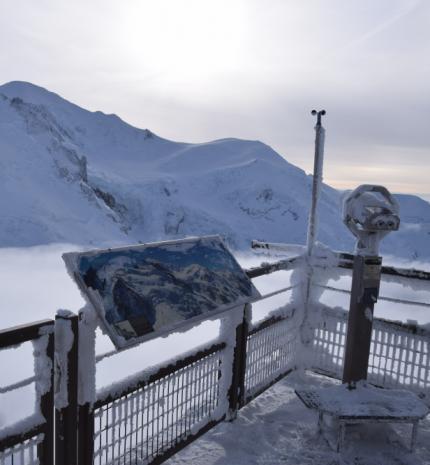 Majdnem Európa tetején - Chamonix