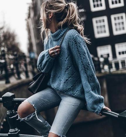 Stílusiskola: Így viseld a kék színt ősszel