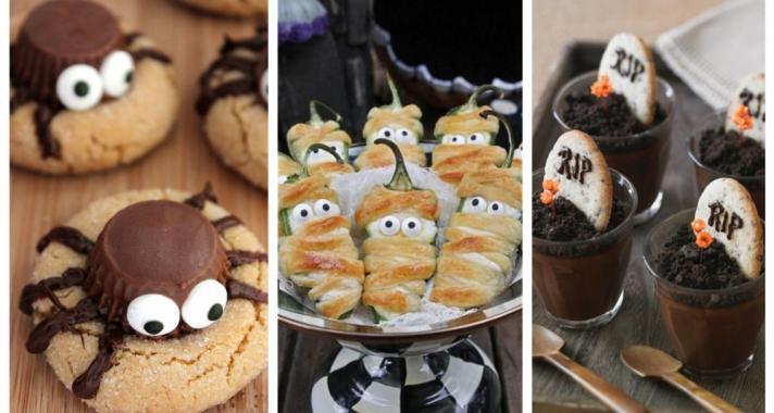 Top10: kreatív és rémisztő kaja ötletek a Halloween bulidra