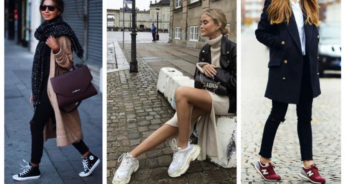 Stílusiskola: így viselj sportcipőket az őszi szezonban