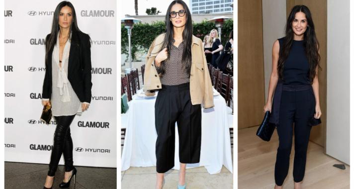Top10: stílustippek Demi Moore-tól