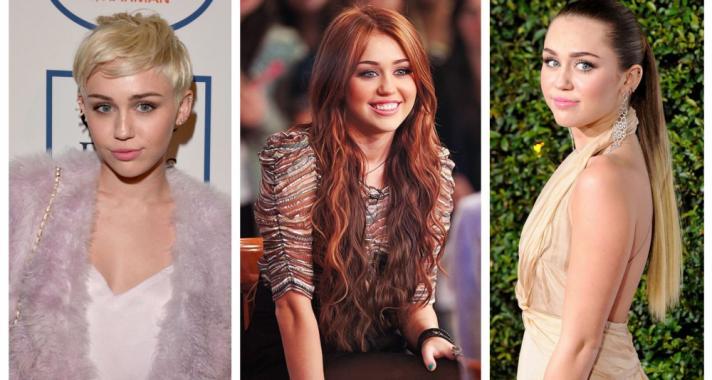 Top10: frizura ötletek Miley Cyrus-tól