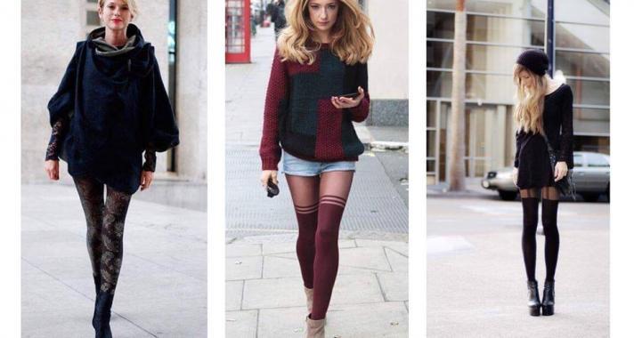 Stílusiskola: Outfit ötletek mintás harisnyával