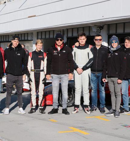 Novemberi körözés - Tesztnapot tartott a Gender Racing Team a Hungaroringen