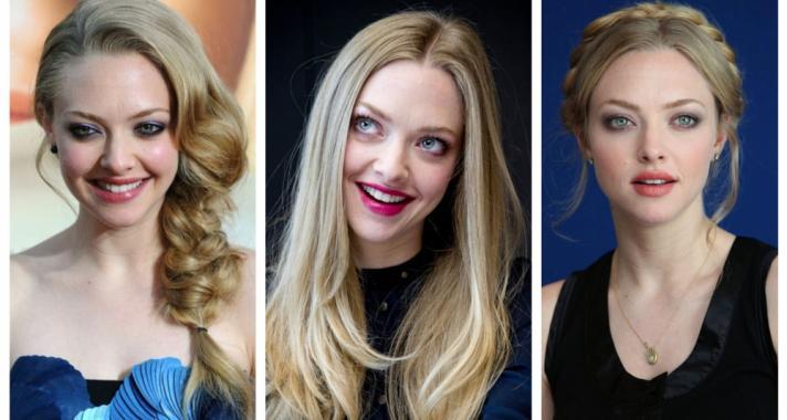 Top10: frizura ötletek Amanda Seyfried-től