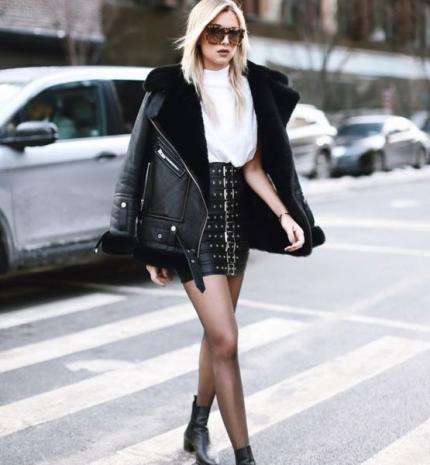 Stílusiskola: télen viselj fekete szoknyákat
