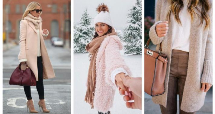Stílusiskola: így viselj púder árnyalatokat télen