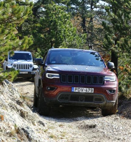 Wrangler, Cherokee, Renegade - izgalmas terepre vittük a Jeep-eket