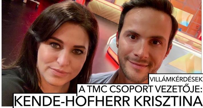 Villámkérdések: Kende-Hofherr Krisztina