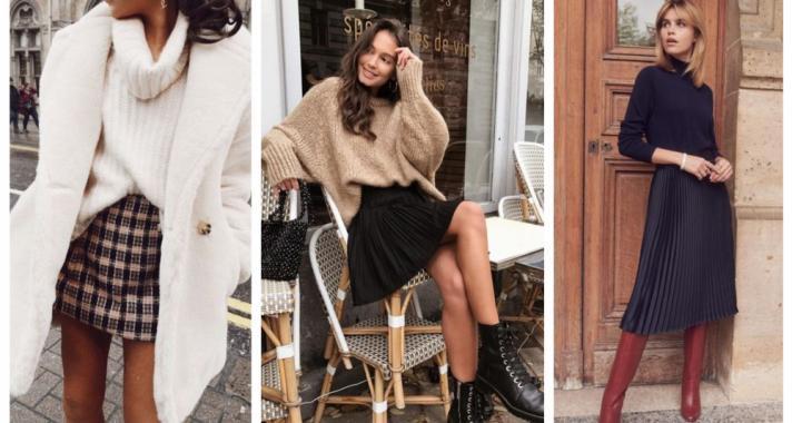Stílusiskola: így viselj szoknyákat télen, hideg időben