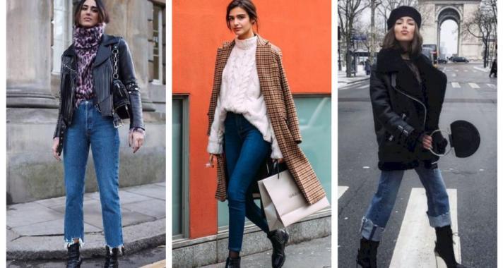 Stílusiskola: így viselj télen farmer nadrágokat