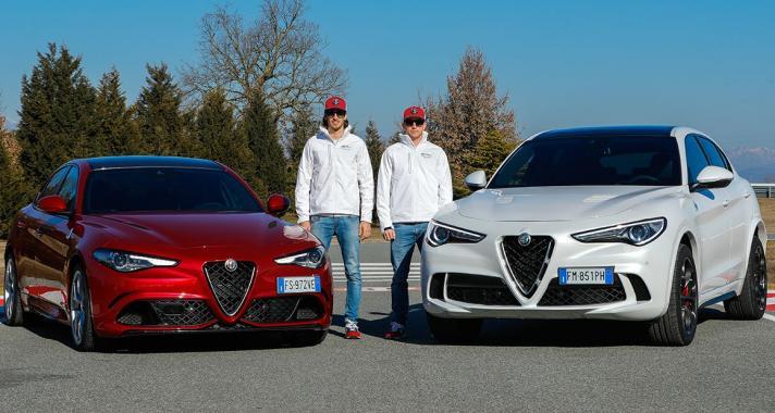 Kimi Räikkönen és Antonio Giovinazzi az Alfa Romeo világával ismerkedett