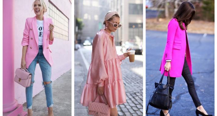 Stílusiskola: így viselj tavasszal rózsaszínt