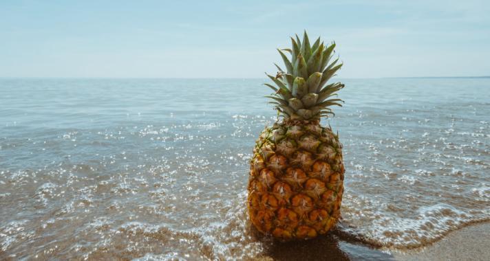 Az ananász jótékony hatásai